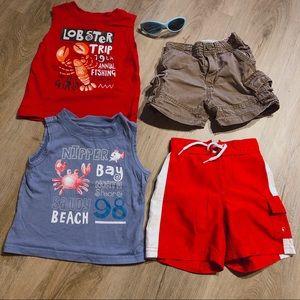 Infant Boys 12-18mo Summer Fun LOT 😎☀️